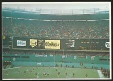 Three Rivers Stadium Pittsburgh Pirates Baseball Postcard NFL Steelers