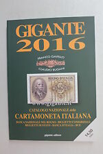 CATALOGO GIGANTE CARTAMONETA ITALIANA 2016 REGNO REPUBBLICA + BANCONOTE EURO BCE