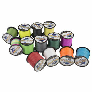 Hercules Braided Fishing Line 100M 109Yds 6lb-100lb PE Strong 4 Strand Saltwater