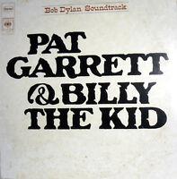 "12"" BOB DYLAN  LP  OST 1973 PAT GARRET & BILLY THE KID COLONNA SONORA ORIGINALE"