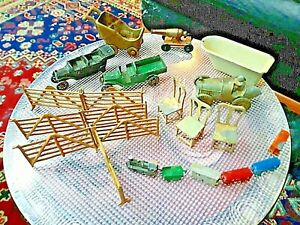 VTG *CAST IRON* TOY COLLECTION 1930s KILGORE,TOOTSIETOY,ENGLAND,SLUSH ETC.