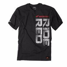 Factory Effex Honda Ride Red Vert T Shirt Size L CR CRF XR XL CB CBR TRX 400EX