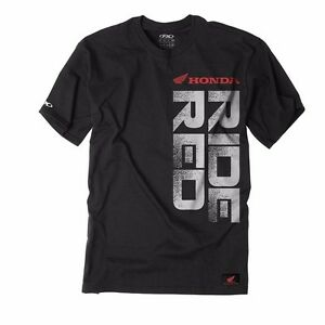 Factory Effex Honda Ride Red Vert T Shirt Size M CR CRF XR XL CB CBR TRX 400EX