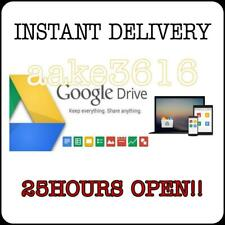 UNLIMITED GOOGLE DRIVE GSUITE RANDOM ACCOUNT LIFETIME WARRANTY INSTANT DELIVERY
