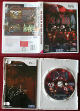 Wii, Jeu THE HOUSE OF THE DEAD 2 & 3 RETURN, complet en très bon état, PAL