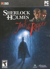 SHERLOCK HOLMES VS JACK THE RIPPER Mystery PC Game NEW!