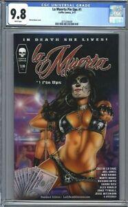 La Muerta Pin-Ups #1  Monte Moore Cover  Coffin Comics  1st Print  CGC 9.8