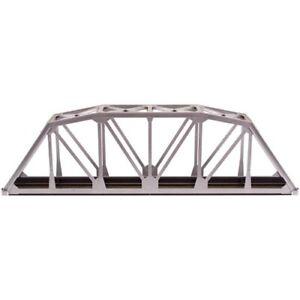 Atlas HO Code 100 Through Truss Bridge Kit - Silver Item #0889