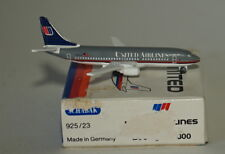 Schabak Boeing 737-322 United Airlines 1st version in 1:600 scale in damaged box