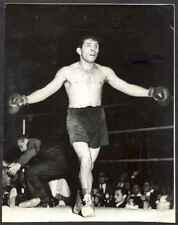 "R Photo Jose Maria Gatica Argentinian Boxer 8 1/4"" x 6 1/2"""