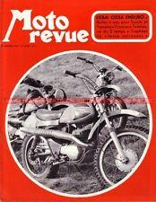MOTO REVUE 2058 SUZUKI 500 PEM 125 OSSA 250 YAMAHA TD2 Francisco Tombas 1972