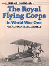 Royal Flying Corps in World War I No. 1 - RFC/RAF - Jasta  pilots - WW1