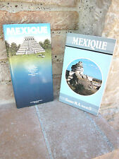 Lot 2 petits guides du Mexique: Guides M.A.pocheS 1984 / Gallimard 1986