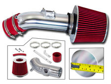 BCP RED For 2010-2012 Mazda3 3 2.5 2.5L L4 Racing Ram Air Intake Kit +Filter