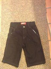 Boys Arizona Jean Co. Black Denim Cargo Shorts: Size 12 Regular
