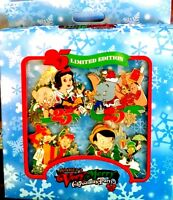 "Disney Mickey's Very Merry Christmas Party ""08"" Boxed Pin Set of 4"