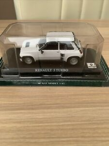 BNIB Model Car Unopened - White Renault 5 Turbo