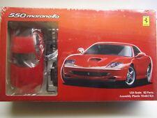 Fujimi 1:24 Scale Ferrari 550 Maranello Model Kit - New - #12237-2600