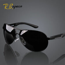HD Fashion Men Polarized Sunglasses Outdoor Sports Eyewear Driving Glasses Black