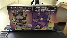 The Transformers Action Vinyls Lot x2 Scrapper & Shockwave
