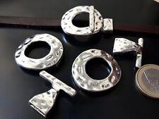 3 Cierres Zamak (A.10,7 x 2,2mm) pulseras abalorios cierre (CG-06) bisuteria