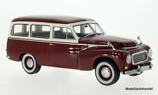 Volvo pv445 Duo 1956 Rouge Foncé/Beige - 1:18 BoS >> NEW <<