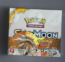 POKEMON SUN AND MOON BOOSTER TCG SEALED BOX + BOTH ELITE TRAINER BOXES