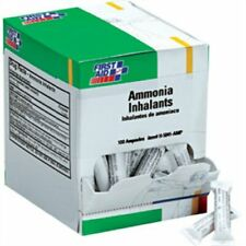 Clearance- First Aid Only H5041-AMP Ammonia Inhalant Ampoules, 100 Per Box