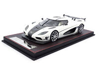 #F042-29 - FrontiArt Koenigsegg Agera RS - Pearl-White - 1:18