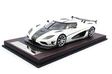 #f042-29 - frontiart Koenigsegg Agera RS-Pearl-White - 1:18