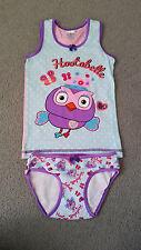 Licensed Giggle & Hoot 2 Pc Summer Sleepwear - Hootabelle Owl - BNWOT - 2/3 -4/6
