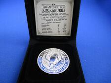 1991 $5 1oz KOOKABURRA SILVER Coin in Wallet. In original packaging. Superb!!!