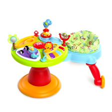 Bright Starts Zippity Zoo 3-in-1 Around We Go Activity Center Unisex