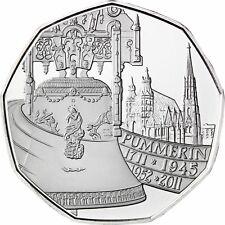 Österreich 5 Euro 2011 Pummerin die Glocke des Stephansdom Handgehoben im Folder