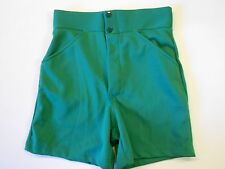 NOS Vtg 80s Rawlings Men's Coaches Shorts Adult Small 26-27 Waist Green USA