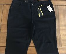 $65 (NWT) Style&Co Women's Plus Size 20W Black Slim Leg Mid Rise Denim Jeans