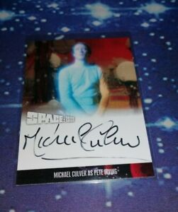 Space 1999: Series 4 Trading Cards: Michael Culver Autograph Card MC1