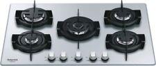 Hotpoint Ariston Piano cottura 5 Fuochi incasso a gas 75 cm Cristallo DD752P(SL)