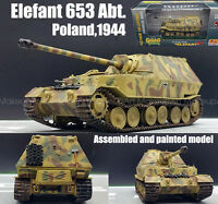 WWII German Elephant elefant tank destroyer poland 1944 1/72 finished Easy model