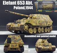 WWII German Elephant elefant tank destroyer poland 1944 1/72 finished Easy model