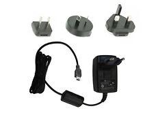Mini USB Netzteil / Ladegerät 5V 1,2A - Handy Ladegerät incl. 4 Reiseadapter