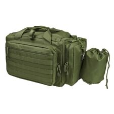 NCStar CVCRB2950G Tactical Competition Pistol Range Carry Case Bag - Olive Green