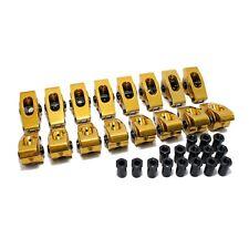 "Chevy Small Block 3/8"" 1.5 Ratio Aluminum Roller Rockers 350 400 Self Aligning"