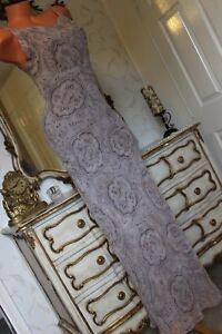 (Ref 22) COAST 100% Viscose Ladies Full Length Bias Cut Lined  Dress size 12