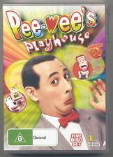 Peewee's Playhouse: Vol 1 (DVD, 5-Disc Set, S1&2) - Paul Reubens [New/Free Post]