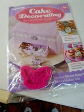 DeAGOSTINI CAKE DECORATING MAGAZINE SILICONE BUTTERFLY MOULD  No 81  NEW