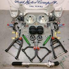 "57-64 Ford Truck Mustang II IFS AirBag 2"" Drop 5x4.5 Manual RHD Rack Basic Kit"