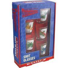 BRAND NEW THUNDERBIRDS SHOT GLASSES 5.4.3.2.1