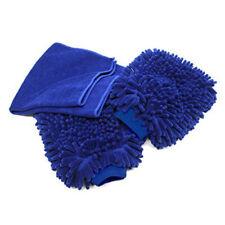 Premium Fiber + Chenille Car Wash Mitt (3-Pack) with polishing cloth, High Y6W0