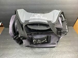 Dynamic Discs Fade Backpack Carry Bag Disc Golf Satchel Case Gray/Purple Caddy